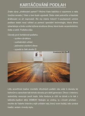 kartáčování podlah