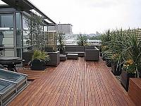 Venkovní dřevěné podlahy