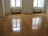 Pokládka dřevěné podlahy 4