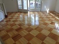 Náter na dřevěnou podlahu lak 8