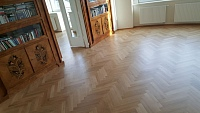 Nátěr na dřevěnou podlahu olej 2