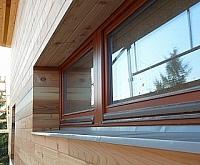 dřevěné obklady fasád