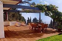 nátěr venkovní dřevěné podlahy 3