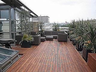 Montáž dřevěné terasy 1