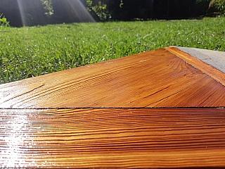Kartáčování dřevěné podlahy 2