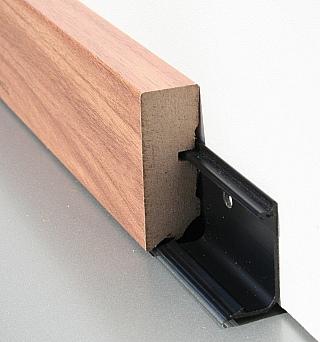 Podlahové lišty k plovoucí podlaze