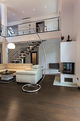 dřevěné dvouvrstvé podlahy
