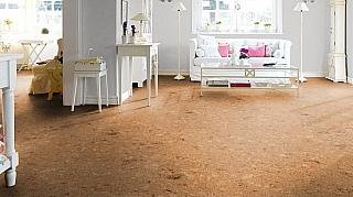 Pokládka korkových podlah
