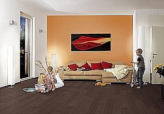 Pokládka laminátové podlahy 2