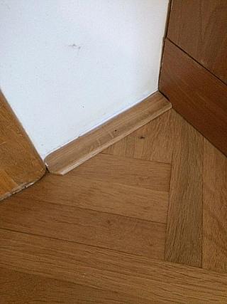 Podlahové lišty k plovoucí podlaze 5
