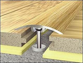 Přechodové lišty podlahové 1