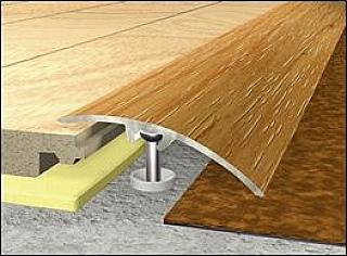 Přechodové lišty podlahové 3