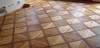 Renovace dřevěných podlah 01