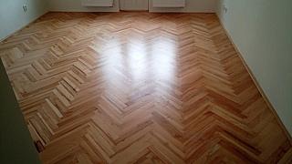 Renovace dřevěných podlah 9