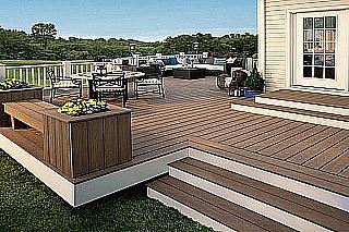 Montáž dřevěné terasy 4