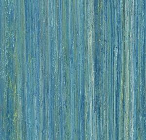 Marmoleum Striato Peacock blue
